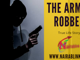 The armed robber