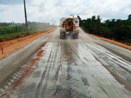 Ongoing project at Ikorodu road